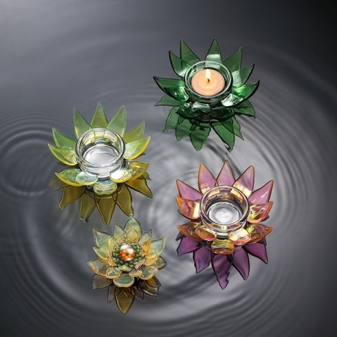 Candle holder - Lotus